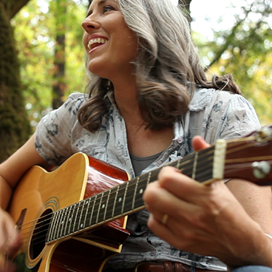 Tiffany McNeil with Guitar